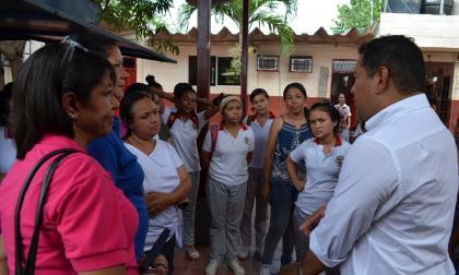 Alcaldía de Malambo anuncia construcción de dos aulas y una batería sanitaria para colegio de Bellavista