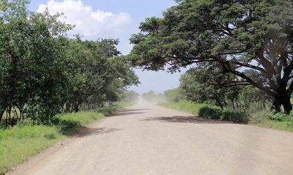 Zona rural del municipio de Mahates.