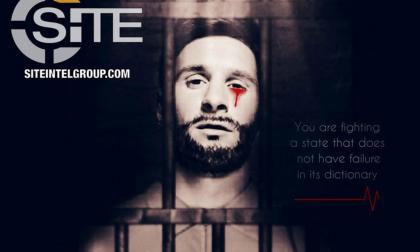 Imagen de amenaza del Isis con la imagen de Messi.