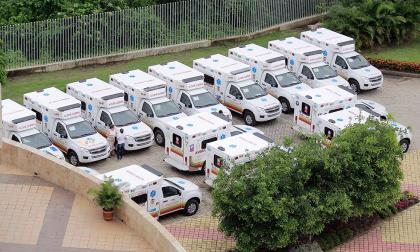 Gobernación entregará 20 ambulancias a 14 municipios en Bolívar