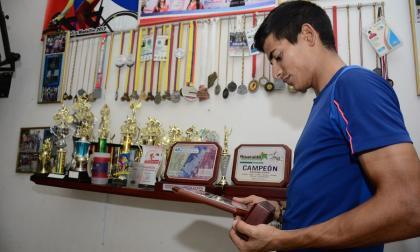 Roban la bicicleta con que Nelson Soto entrena en Barranquilla