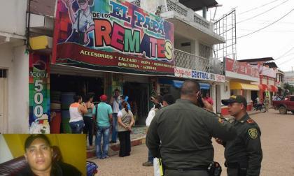 En este lugar se registró el homicidio de Óscar Fabián Bertel Julio.