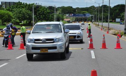 Disminuyó la movilidad durante puente festivo en Sucre