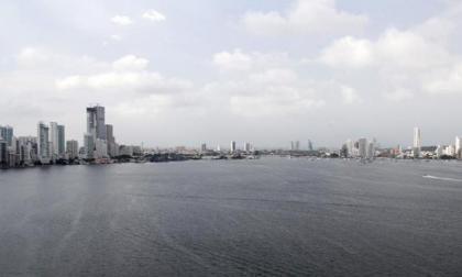 Panorámica de la Bahía de Cartagena.