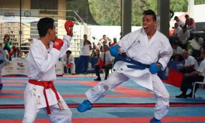 Luis Triviño y Shanee Torres le dan bronce en karate a Atlántico en los Bolivarianos