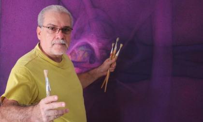 La obra de Serrano estará en la galería de  la paz