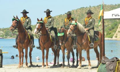 Con 182 policías Santa Marta refuerza la seguridad en temporada de final de año
