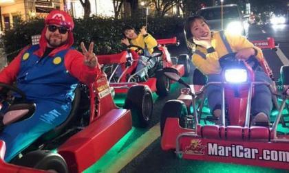 Japón permite imitar a Super Mario al volante, pero con cinturón de seguridad