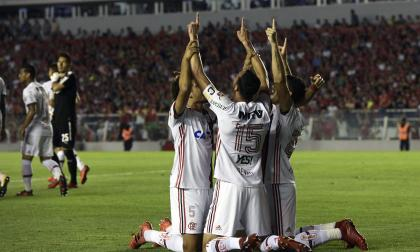 Flamengo espera celebrar en el Maracaná.