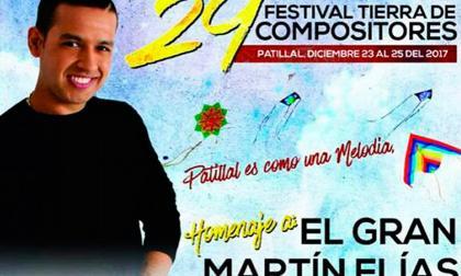 Afiche del Festival Tierra de Compositores.