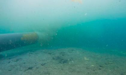 El rompimiento de la tubería del emisario submarino causó contaminación en el mar a la altura del kilómetro 3.