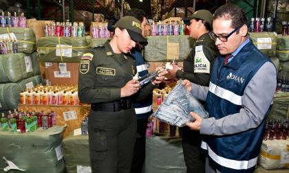 Incautados $317.000 millones en mercancías de contrabando en 2017