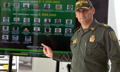 Policía revela listado de los delincuentes más buscados en Sucre