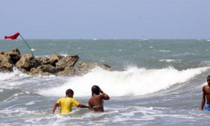 Capitanía de Puerto da recomendaciones a bañistas por frente frío en el Caribe