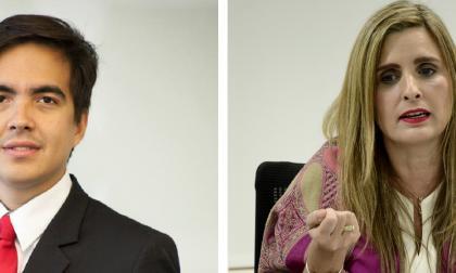 Juan Carlos Peña y María José Vengoechea.