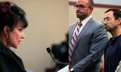 """""""Usted no ha entendido que es un peligro"""", le dijo la juez Rosemarie Aquilina al exmédico Larry Nassar cuando leía la sentencia condenatoria."""