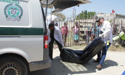Sijín realizó el levantamiento del cadáver.