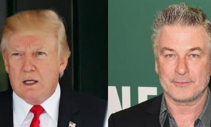 Trump se pelea con su famoso imitador Alec Baldwin