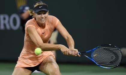 María Sharapova: debut y despedida en Indian Wells
