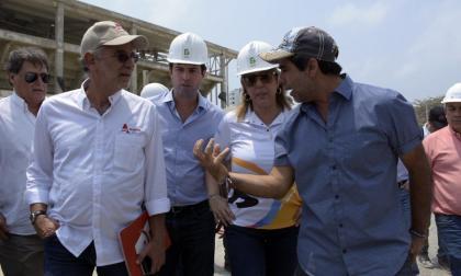 Inspeccionan escenarios para los Juegos Centroamericanos 2018
