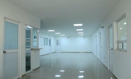 Nueva zona de Consulta Externa del Hospital.