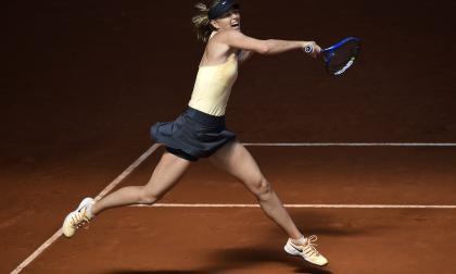 Sharapova cae en cuartos de final del torneo de Madrid