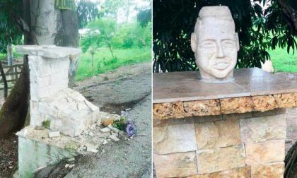 Sorpresa en San Onofre por desaparición del monumento a Martín Elías en punto del accidente