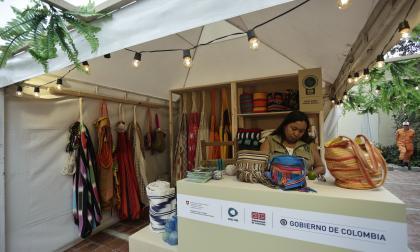 Los tejidos zenú y wayuu, en el primer Mercado Artesanal