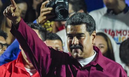 Maduro reelecto hasta 2025 en comicios desconocidos por oposición
