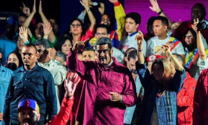 Nicolás Maduro fue reelegido con el 67,7% de los votos