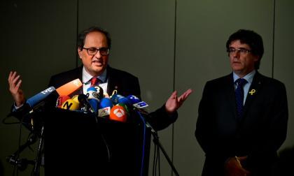 Gobierno catalán aplaza la toma de posesión por el bloqueo de Madrid