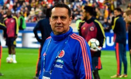 Carlos Ulloa, médico de la Selección Colombia.