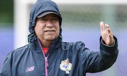 El colombiano Hernán Darío Gómez, entrenador de la Selección de Panamá.