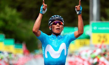 Nairo Quintana gana la séptima etapa de la Vuelta a Suiza