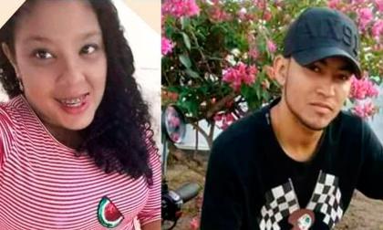 Clarisel Sarmiento Polo y Jaime Contrera Nova, asesinados.