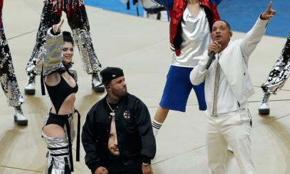 Will Smith, Nicky Jam, Era Istrefi y Ronaldinho encendieron el Luzhniki antes de la final