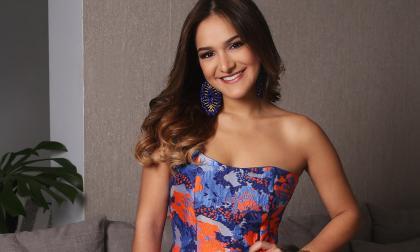 Valeria Abuchaibe Rosales, reina del Carnaval de Barranquilla 2018.