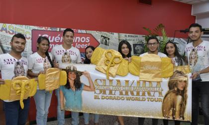 Los regalos dorados que tienen los 'fanes' de Shakira