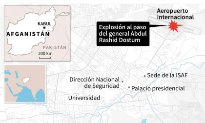 Ataque suicida en Kabul a la llegada del general Dostum: 11 muertos