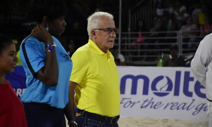 Baltazar Medina, presidente del Comité Olímpico Colombiano.