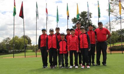 Puyo y Vega, cartas de  Barranuilla en torneo de golf
