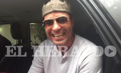 """""""Estoy feliz aquí en La Arenosa, vinimos a cantar"""": Chayanne al llegar a Barranquilla"""