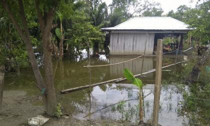 En Sucre-Sucre: 800 familias afectadas  por terraplenes