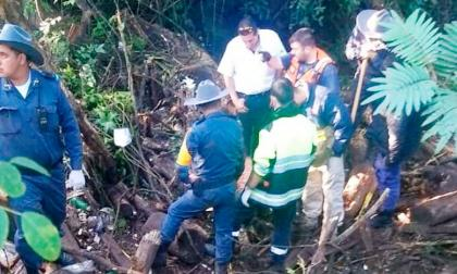Equipo de rescatistas trabajando en zonas afectadas.