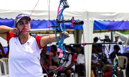 La colombiana Sara López se llevó el oro en la Copa Mundial de Tiro