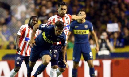 Junior cayó 1-0 contra Boca, por Copa Libertadores, el pasado 4 de abril.