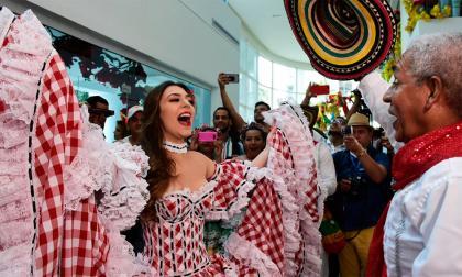 El carnaval de Barranquilla  en el día de la Hispanidad