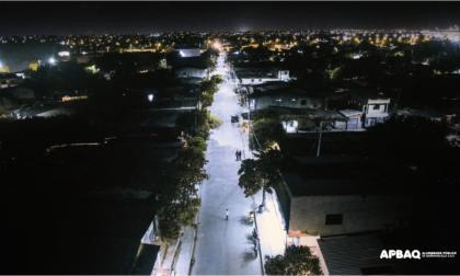 Hasta agosto, Barranquilla había modernizado 31.898 luminarias