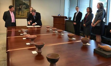 Patrimonio cultural del Caribe y Nariño fue repatriado a Colombia