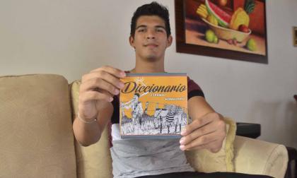 Samuel Eduardo Leal Arias, estudiante de Arte, Folclor y Cultura de la Universidad Popular del Cesar.